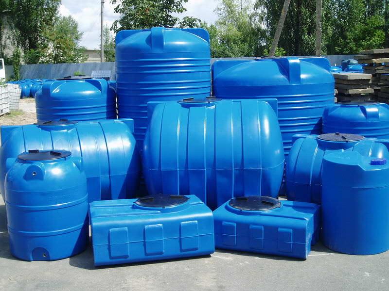 Пластиковые емкости — варианты конфигурации