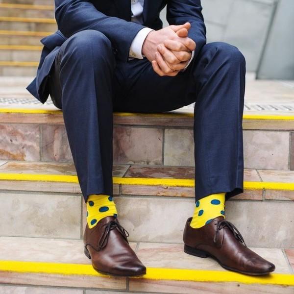 Как носить носки парням?